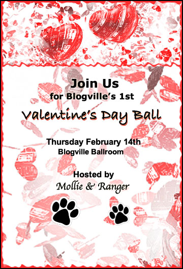Mollie & Alfie's Valentine Ball Invitation